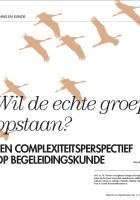 Thijs Homan Complexiteitsperspectief op Begeleidingskunde