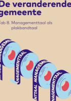 Voorkant managementtaal als plakbandtaal